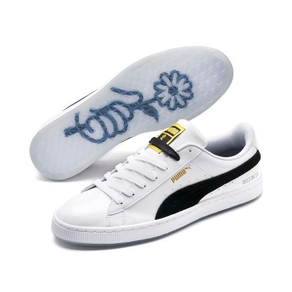 PUMA x BTS Basket Patent Sneakers women NWT